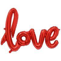 Буквы LOVE из фольги