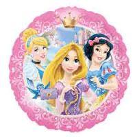 Круглый шар Принцессы с короной