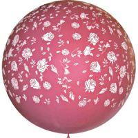 Большой шар Розы Фуксия