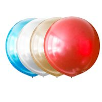 Большой Воздушный шар 76см. (Металлик)