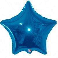 Синяя Звезда из фольги