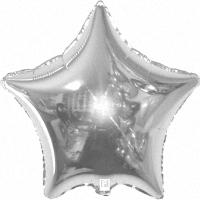 Серебряная звезда из фольги
