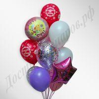 Композиция из воздушных шаров №16