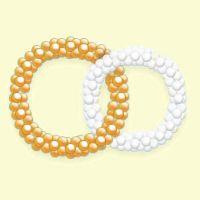 Кольца из шаров