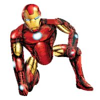 Ходячая фигура из фольги Железный Человек