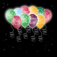 Светящиеся шары С Днем рождения