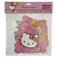 Гирлянда-буквы С ДР Hello Kitty