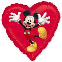 Сердце Микки-маус
