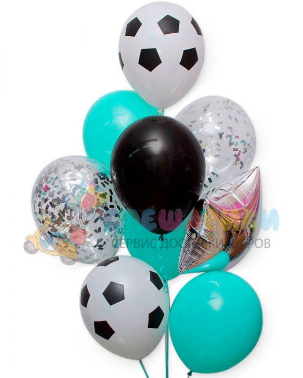 Композиция из воздушных шаров №4