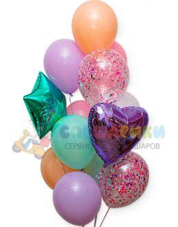 Композиция из воздушных шаров №8