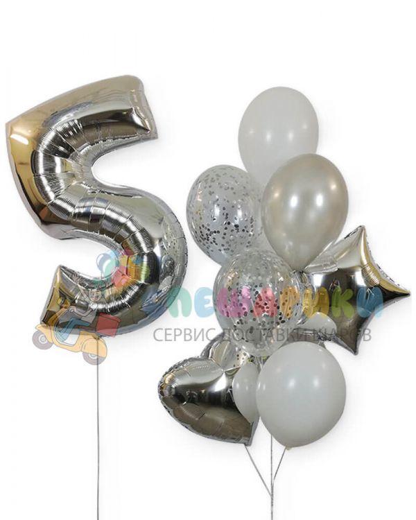 Композиция из воздушных шаров №2
