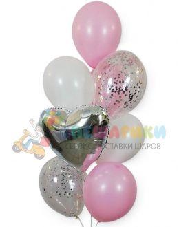 Композиция из воздушных шаров №3