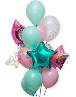 Композиция из воздушных шаров №1