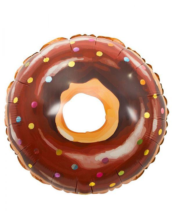 Пончик в глазури шоколадной