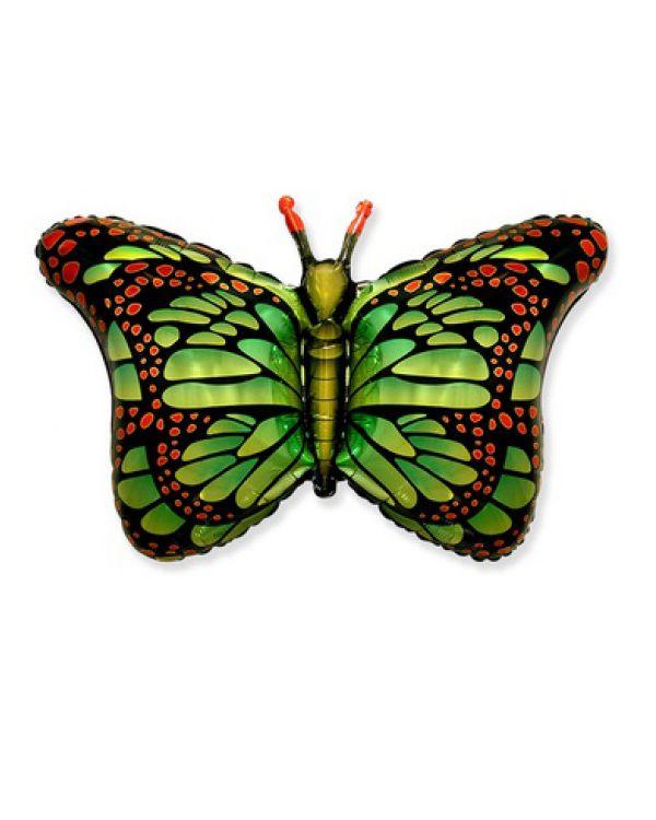 Бабочка крылья зеленые