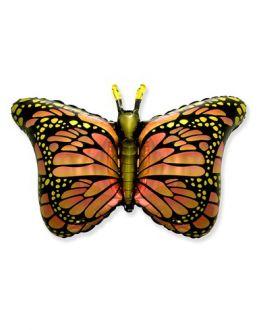 Бабочка крылья розовые