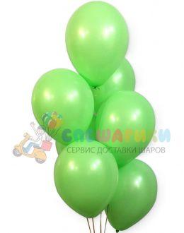 Мятные воздушные шары пастель