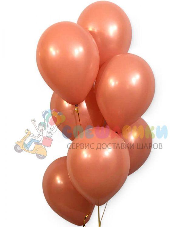 Розовое дерево воздушные шары пастель