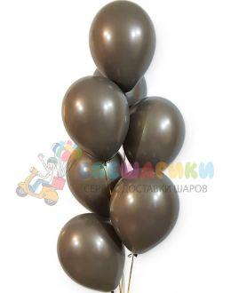 Шоколадные воздушные шары металлик