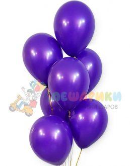 Фиолетовые воздушные шары пастель