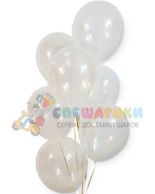 Прозрачные воздушные шары Кристалл