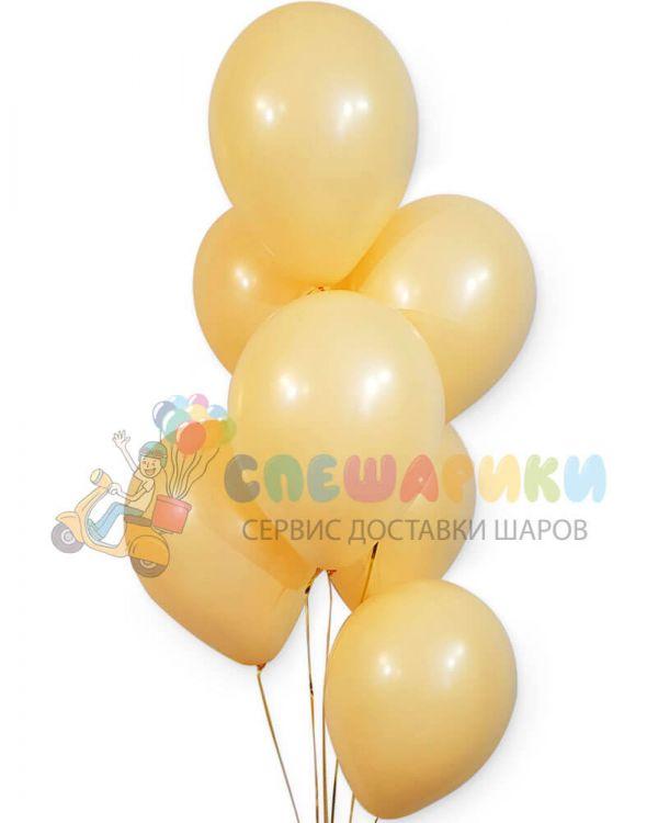 Персиковые воздушные шары