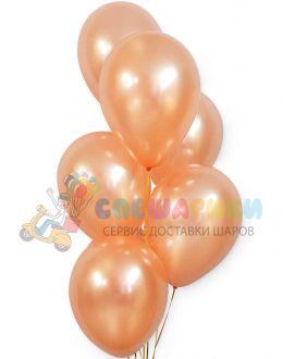 Воздушные шары Розовое золото