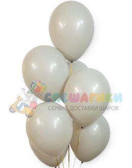 Серые воздушные шары