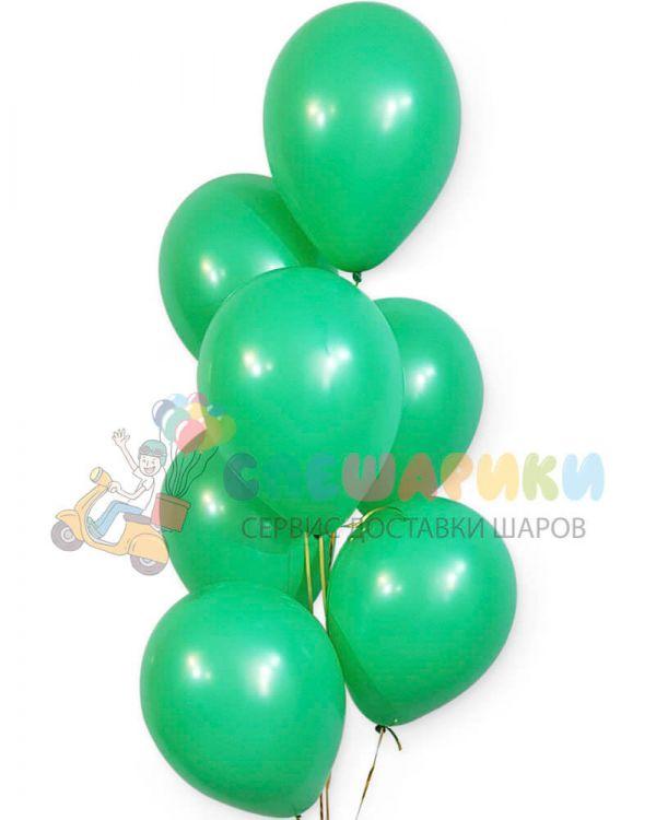 Весенне-зеленые воздушные шары