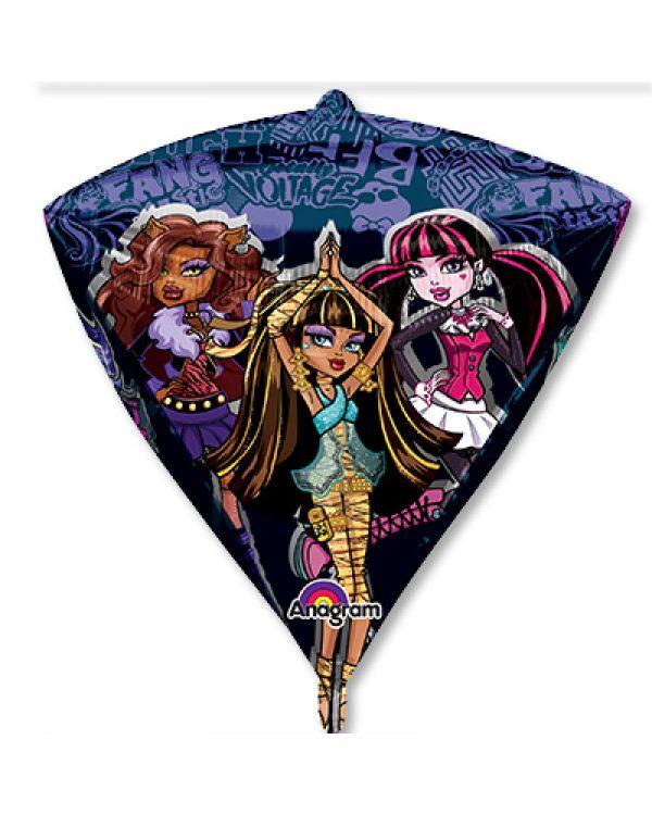 Шар 3D Алмаз Monster High
