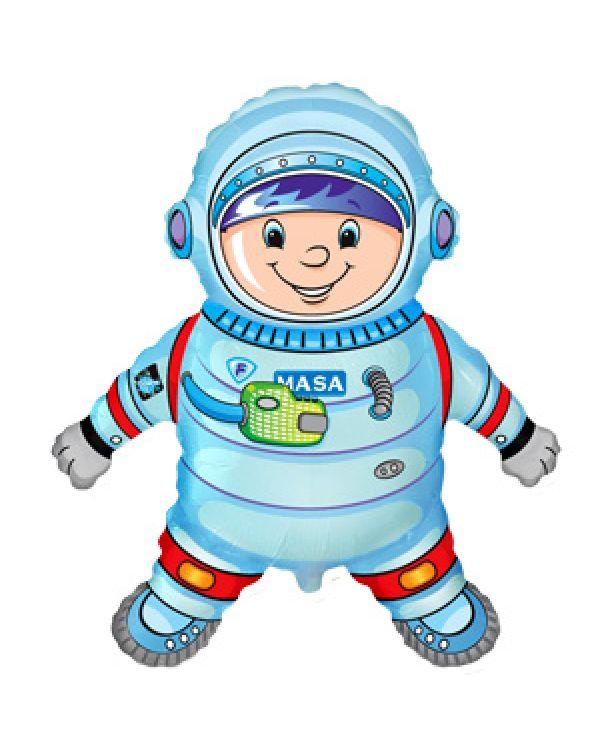 Фигура из фольги Астронавт