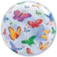 Прозрачный шар BUBBLE Бабочки