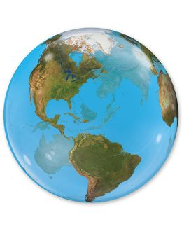 Прозрачный шар BUBBLE Планета Земля