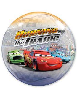 Прозрачный шар BUBBLE Disney Тачки на треке