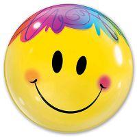 Прозрачный шар BUBBLE Улыбка яркая
