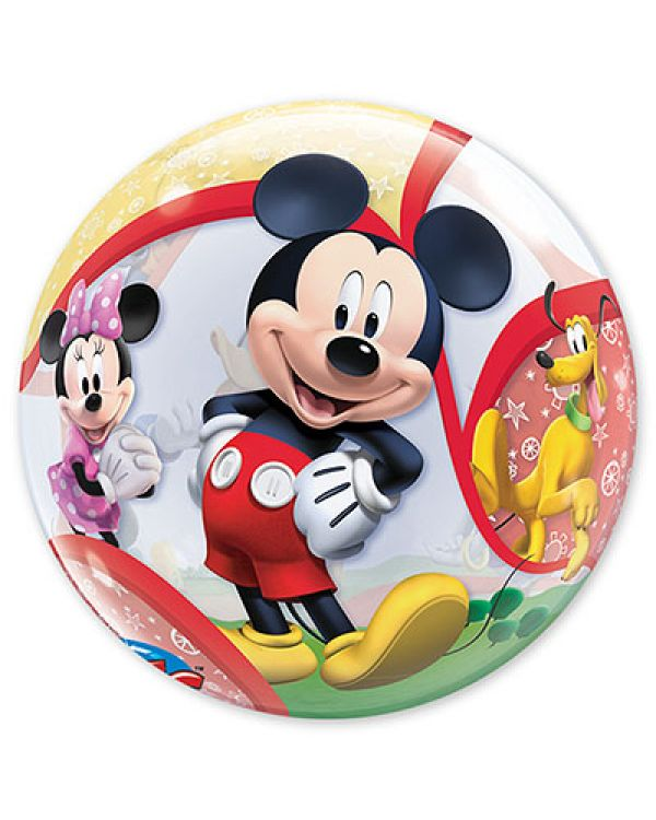 Прозрачный шар BUBBLE Disney Микки и его друзья