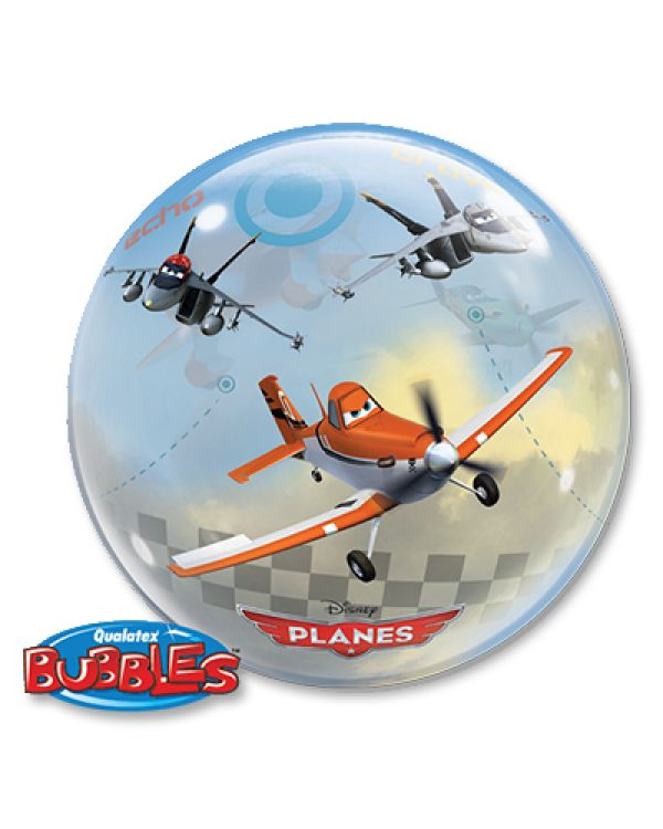 Прозрачный шар BUBBLE Disney Самолеты