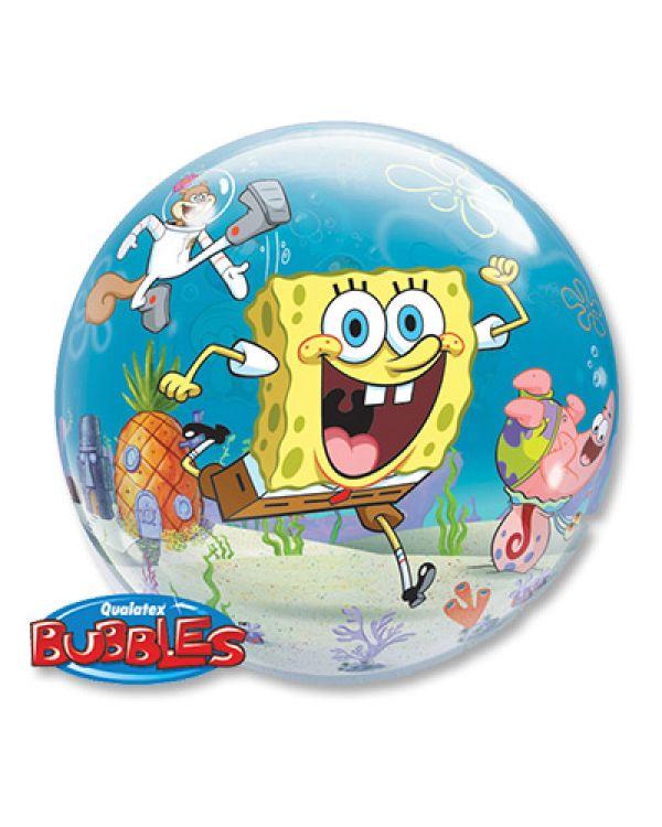 Прозрачный шар BUBBLE Губка Боб