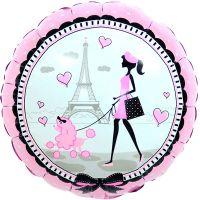 Круглый шар Париж