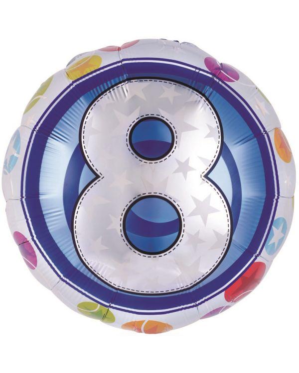 Круглый шар Цифра красочная