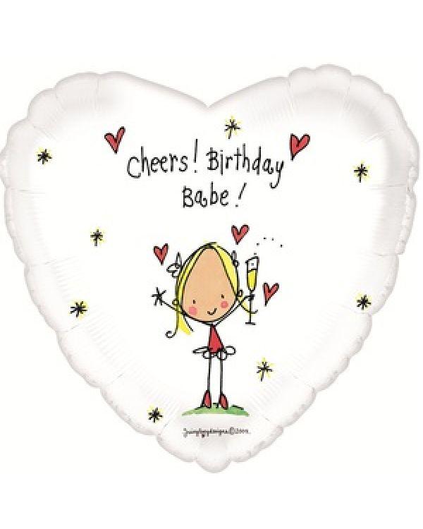 Сердце С Днем рождения (детка)