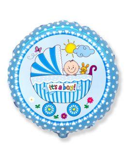 Круглый шар Детская коляска для мальчика
