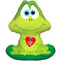 Фигура из фольги Лягушка с сердечком
