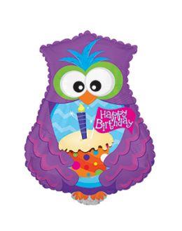 Фигура Сова С Днем рождения