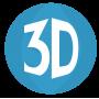Шары 3D и BUBBLE