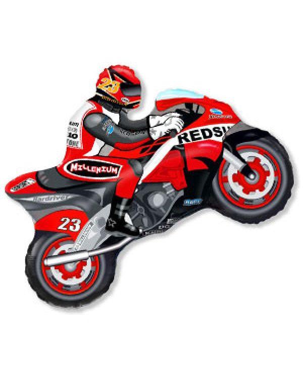 Фигура Мотоцикл красный