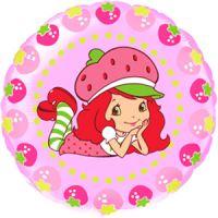 Круглый шар Девочка Клубничка