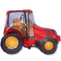 Фигура Трактор красный