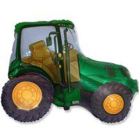 Фигура Трактор зеленый