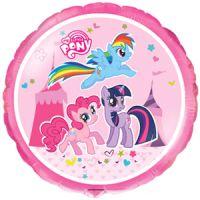 Круглый шар Цирковые пони